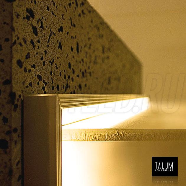 Подсветка с помощью углового профиля TALUM C19.19