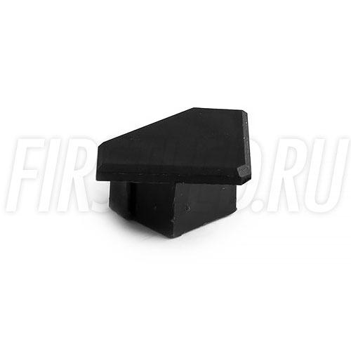 Черная заглушка для светодиодного профиля TALUM C19.19
