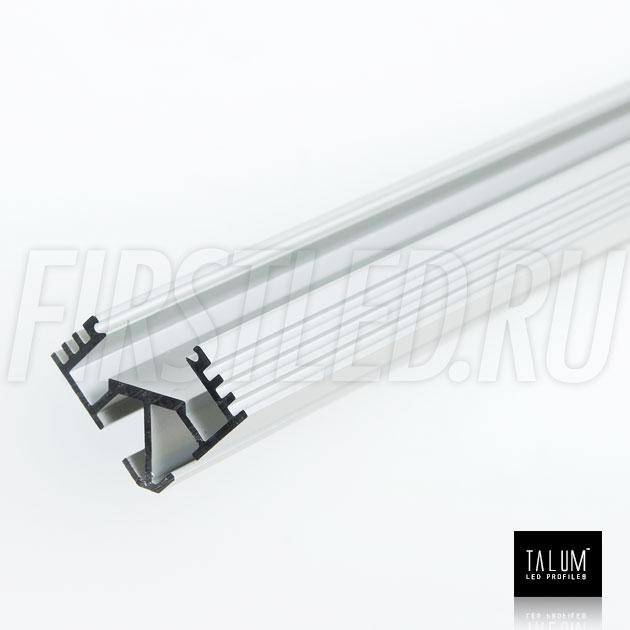 Угловой алюминиевый профиль C19.19A анодированный