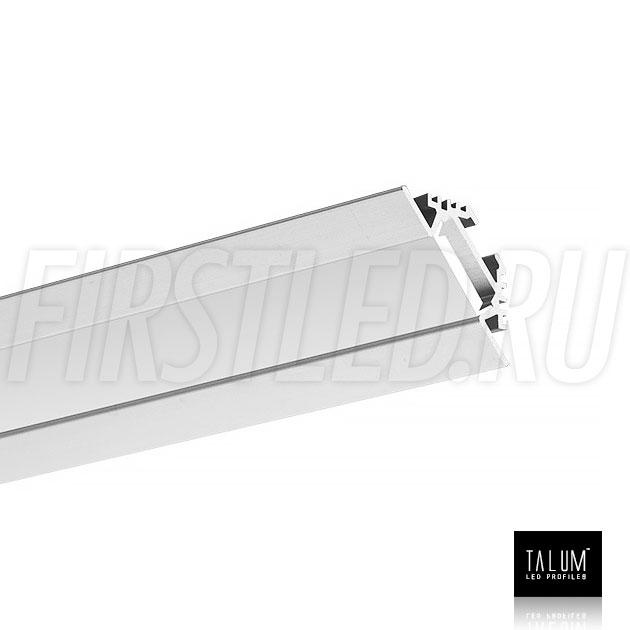 Угловой алюминиевый профиль TALUM C22.22 вместе с матовым рассеивателем