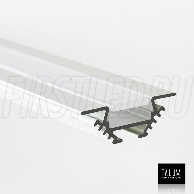 Угловой алюминиевый профиль TALUM C22.22 анодированный