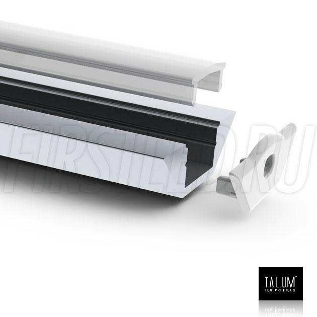 Угловой алюминиевый профиль TALUM C22.22A для подсветки