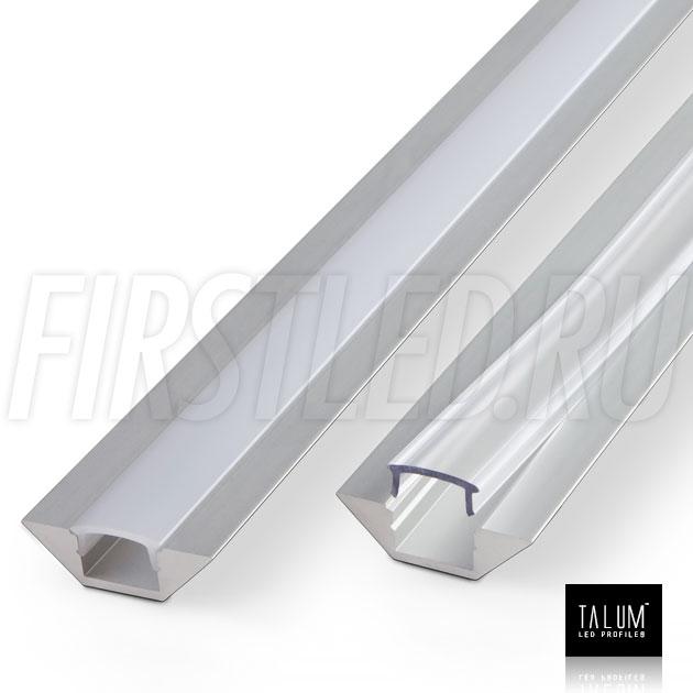 Угловой профиль TALUM C22.22A из толстого анодированного алюминия
