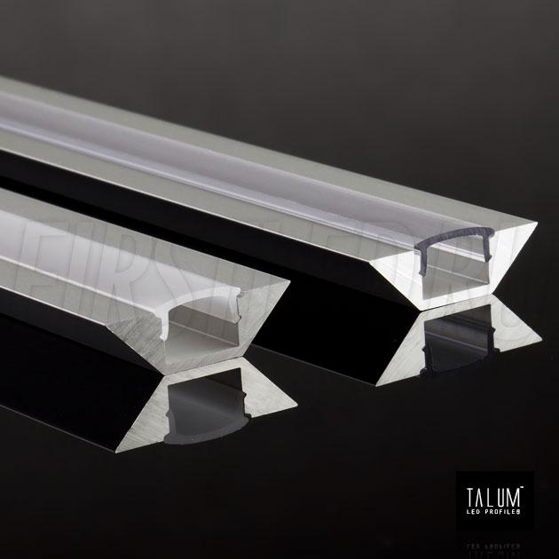 Угловой алюминиевый профиль TALUM C22.22A