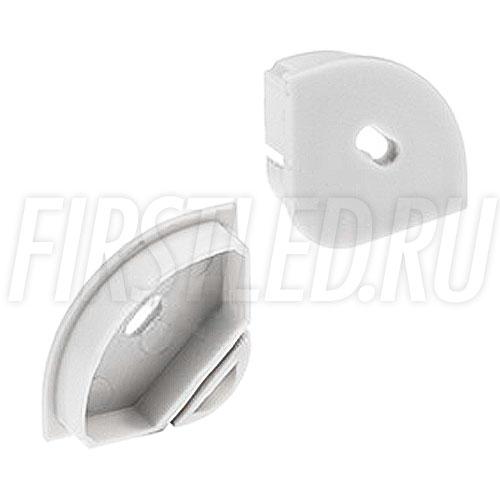 Заглушка с отверстием для светодиодного алюминиевого профиля TALUM C30.30-OC