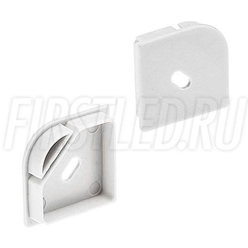Заглушки для светодиодного профиля TALUM C30.30-OK (с отверстием)