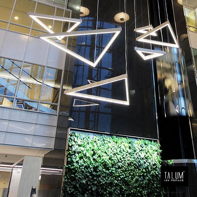 Креативная подсветка с помощью профиля TALUM C32.32