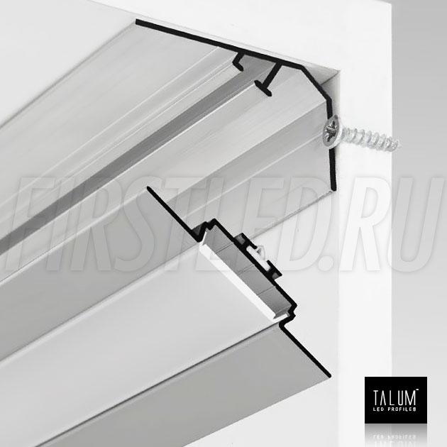 Способ установки углового алюминиевого профиля TALUM C46.27