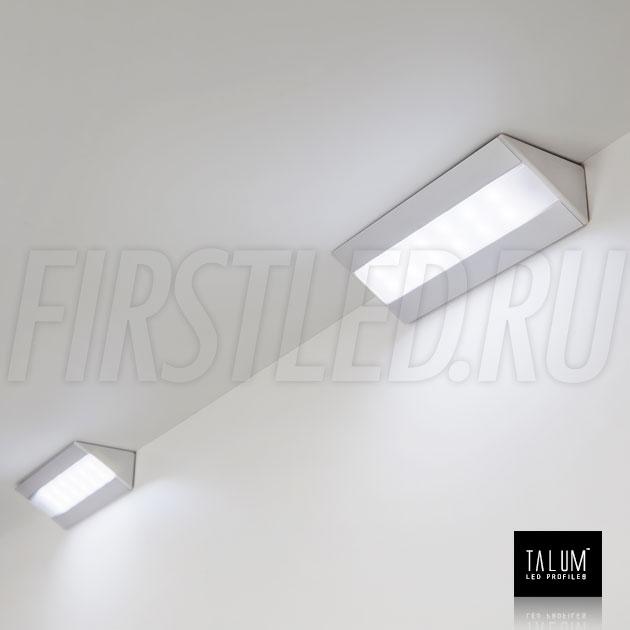 Декоративные светильники при помощи углового профиля TALUM C46.27