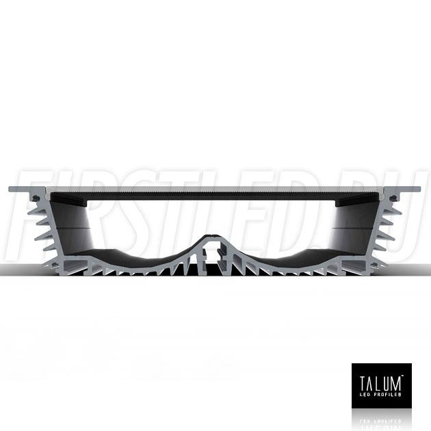 Встраиваемый алюминиевый профиль TALUM E138.30