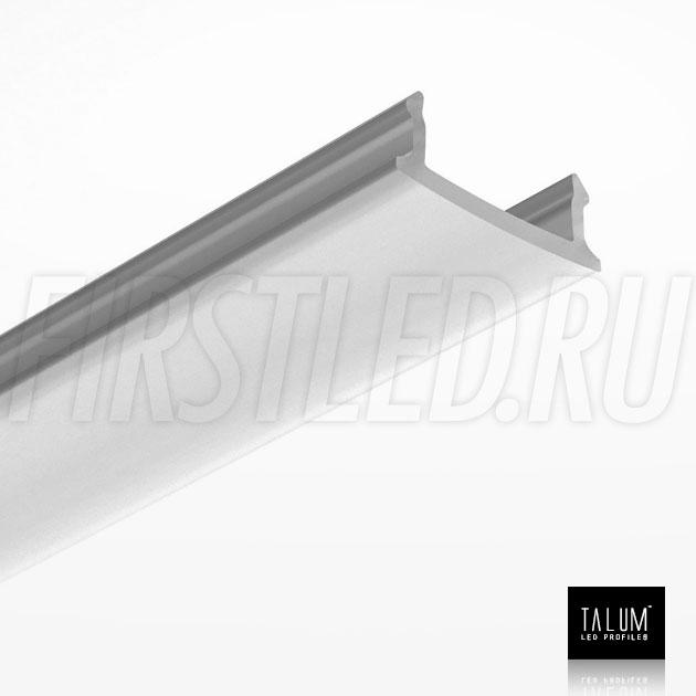 Матовый рассеиватель для светодиодного профиля TALUM HIDE E23.16