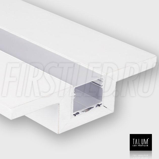 Гипсокартонный светодиодный профильный модуль TALUM GYPSUM L.50