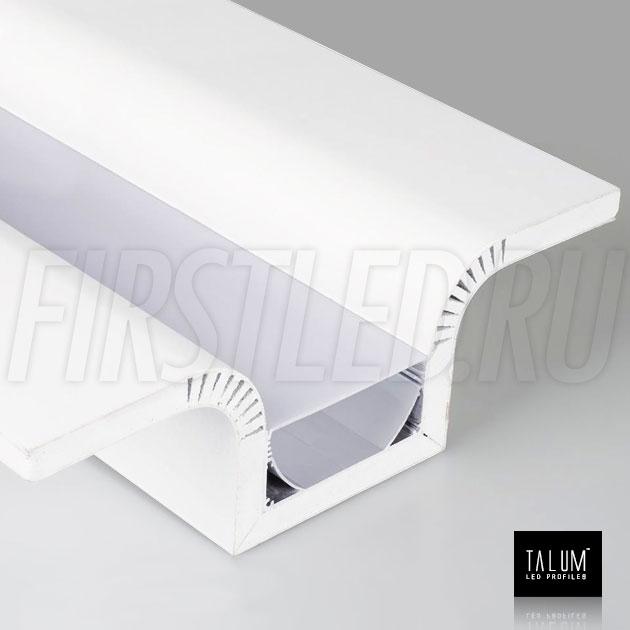 Гипсокартонный светодиодный профильный модуль TALUM GYPSUM SR.80