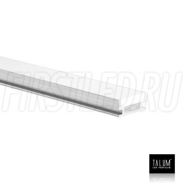Герметичный встраиваемый профиль TALUM E19.8 вместе с матовым рассеивателем