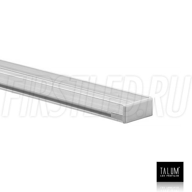 Герметичный встраиваемый профиль TALUM E19.8 с заглушкой