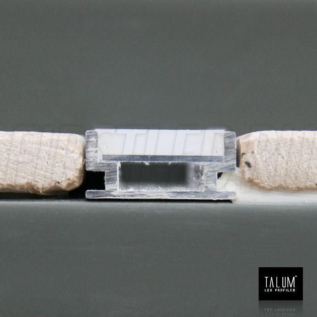 Светодиодный профиль TALUM E19.8 для установки между кафельной плиткой