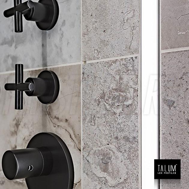 Герметичный светодиодный профиль TALUM E19.8 в ванной