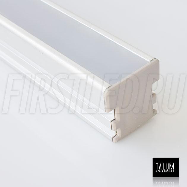 Герметичный встраиваемый светодиодный профиль TALUM E26.26