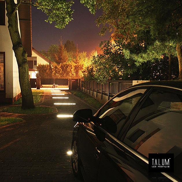 Декоративная светодиодная дорожка из герметичного профиля TALUM E26.26