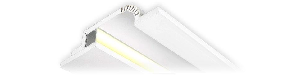Гипсовые профильные светодиодные конструкции TALUM GYPSUM