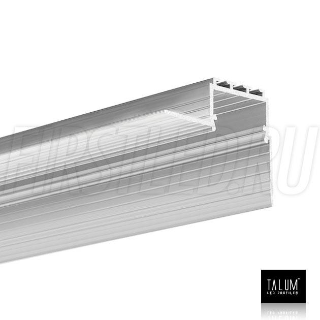 Встраиваемый алюминиевый профиль без рамок вдоль стен TALUM BORDER 24