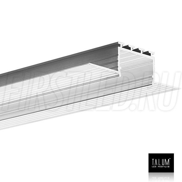 Встраиваемый алюминиевый профиль без рамок TALUM NOFRAME 24.18
