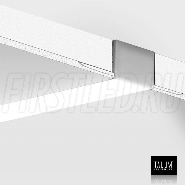 Смонтированный в потолке встраиваемый алюминиевый профиль без рамок TALUM NOFRAME 24.18
