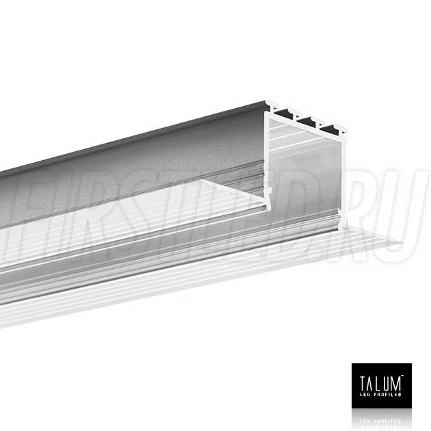 Встраиваемый алюминиевый профиль без рамок TALUM NOFRAME 24.25 (eh67.25)
