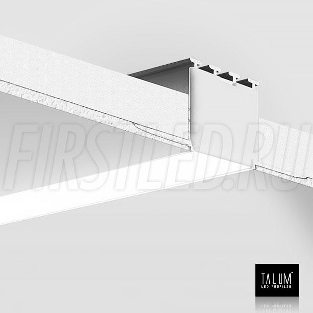 Смонтированный в потолке встраиваемый алюминиевый профиль без рамок TALUM NOFRAME 24.25 (eh67.25)