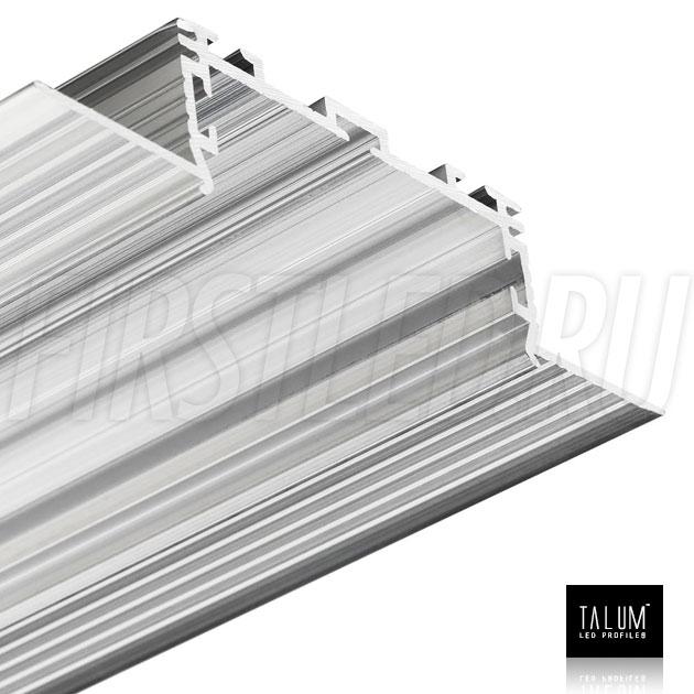 Безрамочный встраиваемый светодиодный профиль TALUM NOFRAME 45.19 без рассеивателя