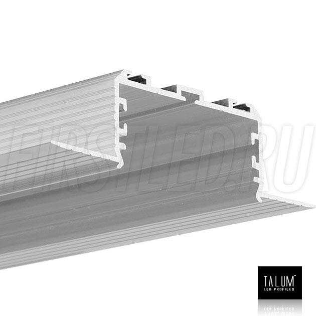 Встраиваемый алюминиевый профиль без рамок TALUM NOFRAME 45.25 без рассеивателя
