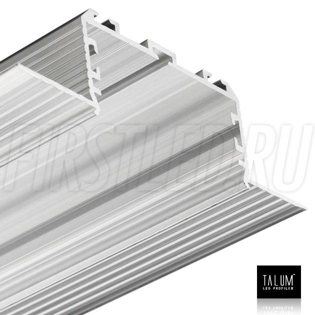 Безрамочный встраиваемый светодиодный профиль TALUM NOFRAME 45.25 без рассеивателя