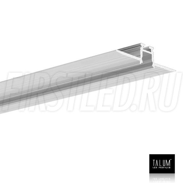 Встраиваемый алюминиевый профиль без рамок TALUM NOFRAME 8.10