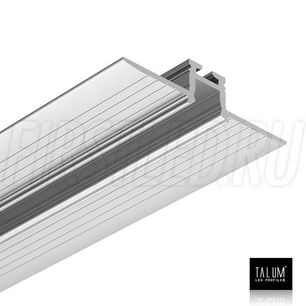 Встраиваемый алюминиевый профиль без рамок TALUM NOFRAME 8.10 без рассеивателя