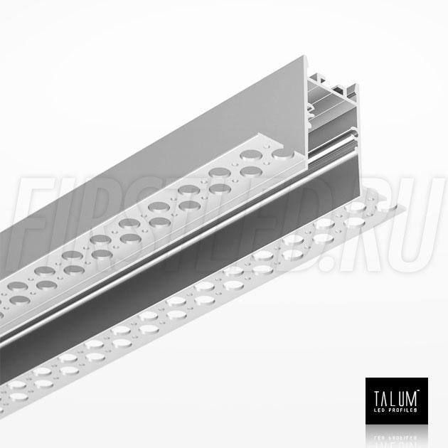 Встраиваемый алюминиевый профиль без рамок TALUM NOFRAME HIDE 22