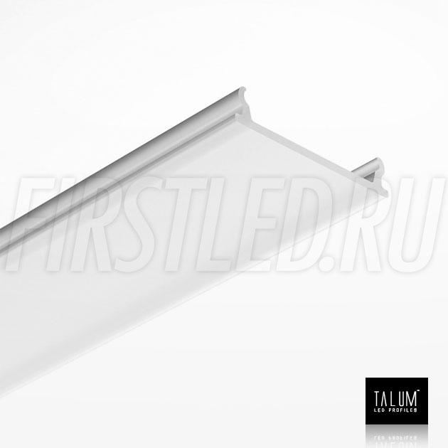 Матовый рассеиватель для светодиодного профиля TALUM NOFRAME HIDE 22