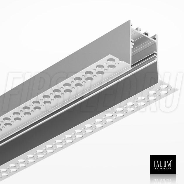 Встраиваемый алюминиевый профиль без рамок TALUM NOFRAME HIDE 30