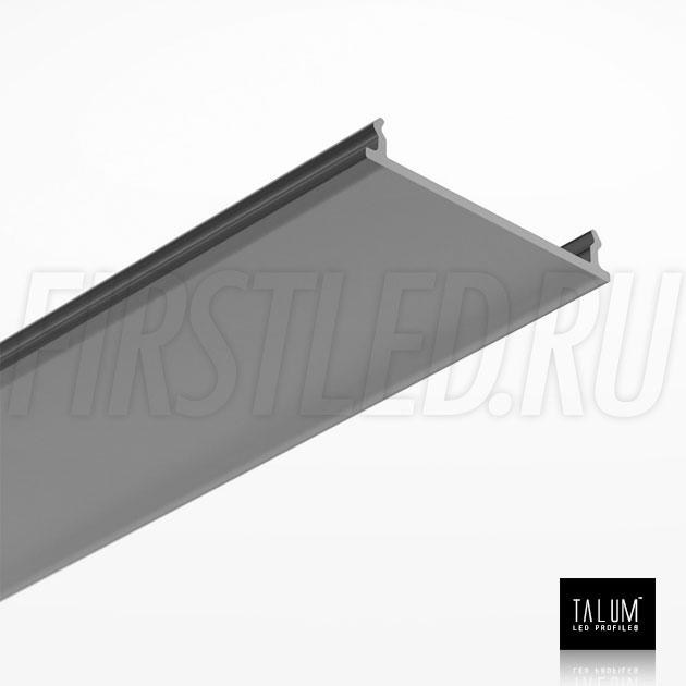 Черный матовый рассеиватель для светодиодного профиля TALUM NOFRAME HIDE 30