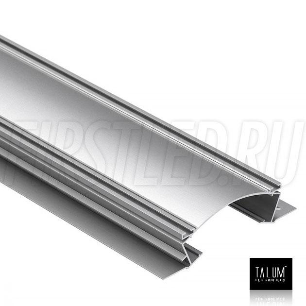 Встраиваемый алюминиевый профиль без рамок TALUM NOFRAME S.153