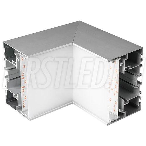 Внутренний угол для двух профилей TALUM WP105.70 под углом 90°