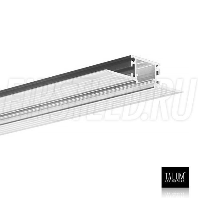 Встраиваемый алюминиевый профиль без рамок TALUM WP12.14n