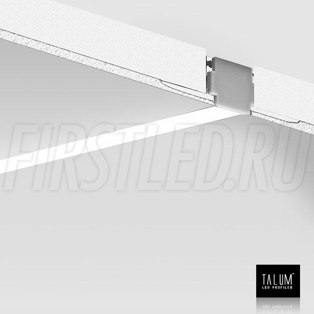Смонтированный в потолке встраиваемый алюминиевый профиль без рамок TALUM WP12.14n