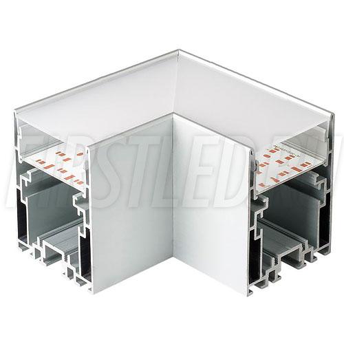 Угловой соединитель под прямым углом 90° для профиля TALUM WP54.70