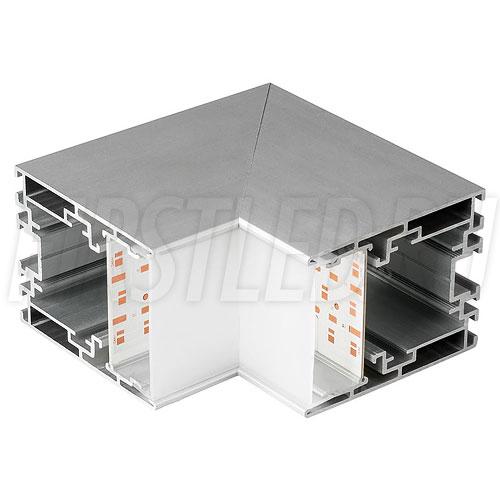Внутренний угол для двух профилей TALUM WP54.70 под углом 90°