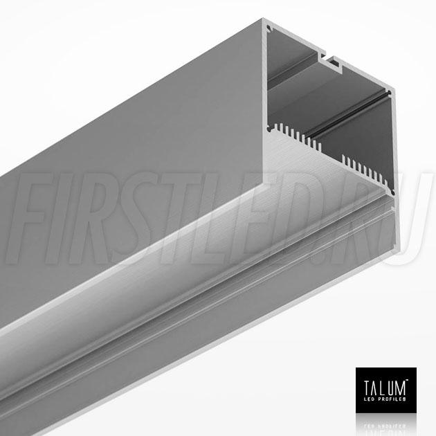 Светодиодный алюминиевый профиль TALUM WP74.77 (анодированный)