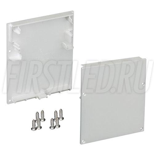 Заглушки для встраиваемого светодиодного алюминиевого профиля без рамок TALUM WP74.77n