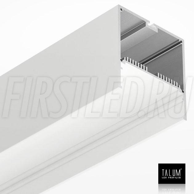 Светодиодный алюминиевый профиль TALUM WP74.77 WHITE (белый)