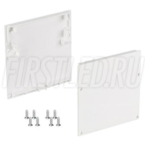 Заглушки белые для светодиодного профиля TALUM WP74.77 WHITE
