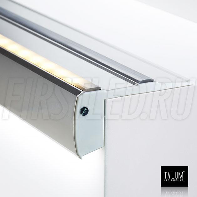 Профиль для ступенек TALUM STEP81.40 — подсветка сверху и снизу