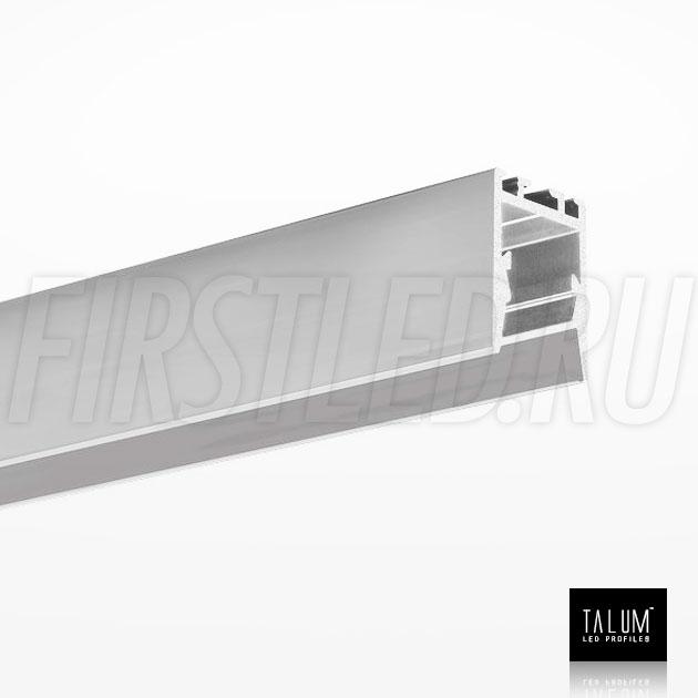 Накладной / подвесной алюминиевый профиль TALUM HIDE WP16.22